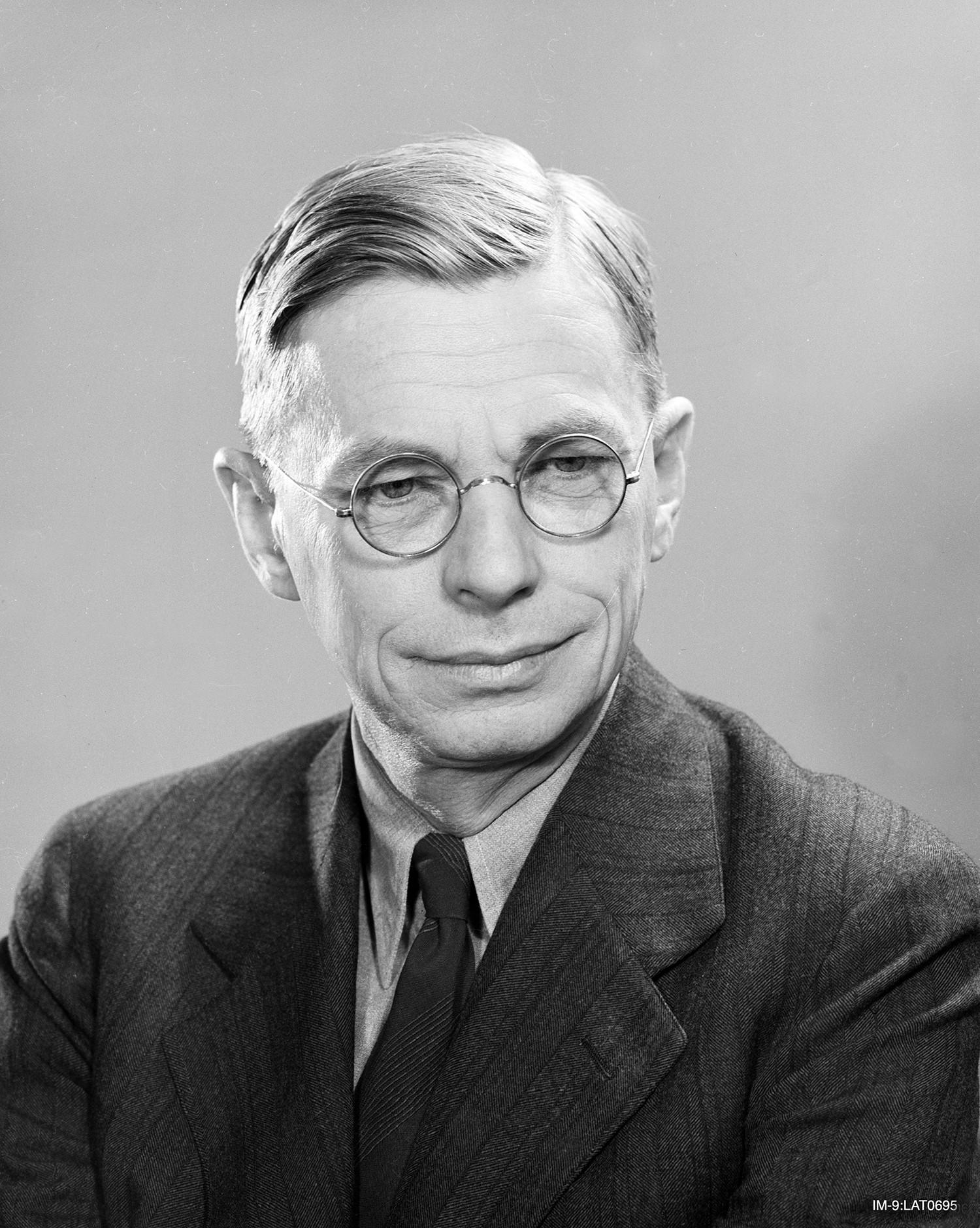 James Conant, President of Harvard University